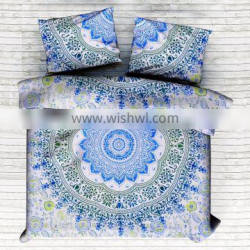 Indian New Design Ombre Mandala Duvet Cover Set Quilt Cover Comfoter Set Doona Cover Duvet Cover With Pillow Cover