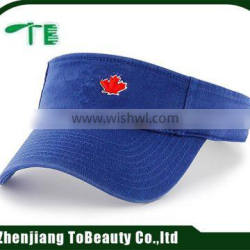3D embroidery polyester visor caps