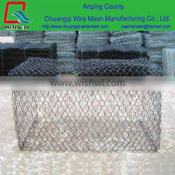 UV/SGS Certification Galvanized river bank protect gabion basket/gabion box (ISO 9001 factory)