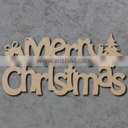 laser engraved wooden crafts and gifts christmas wood cutting letters