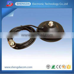 Diameter 110mm magnet mount for vehicle two-way radio communication with cable RG58U connect PL259 SD150A