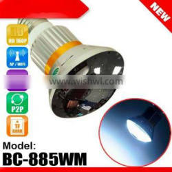 Wifi mirror bulb camera with 5W White LED Light