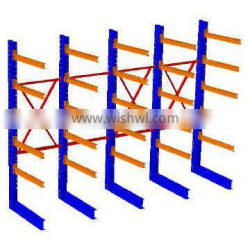 Q235B steel diy storage rack cantilever rack