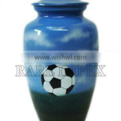 Soccer Urn Football Memorial Cremation Urn for Ashes