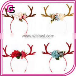 Christmas wholesale cute fashion elk antlers headband