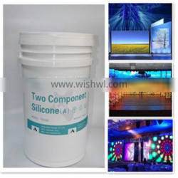 ROHS two-component silicone potting for indoor and outdoor LED full color display and electronic components