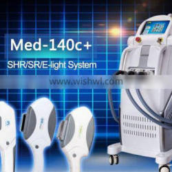 2015 selling laser light with radio shr hair removal high quality long life lamp