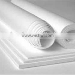 white 100%virgin ptfe skived and molded sheet