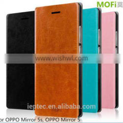 MOFi Customed PU Leather Flip Cover Case for OPPO Mirror 5s, TPU Back Cover Case for OPPO Mirror 5