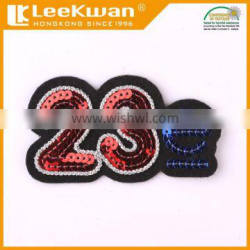 sequin embroidery letter patches,emoji sequin patches,embroidery sequin number appliques