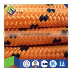 new brand high strength double braided polyester rope