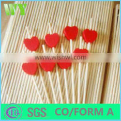 Wy-C124 Arranging flowers round bamboo sticks