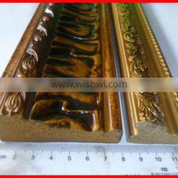 wood like picture frame mouldings in polystyrene PS