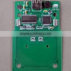 HF 13.56Mhz ISO15693,i.code2,Ti2048 RFID Reader /Writer Module with USB
