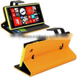 pu leather case cover stand for Nokia lumia 720