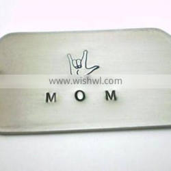 Promotional gift for mom tag dog tag engrave, engraved dog tags, metal dog tags