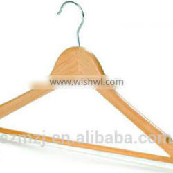 High quality smooth wooden coat hanger