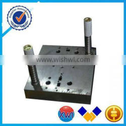 Roll printed plastic die cutting machine with hot stamping