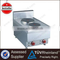 ShineLong High Quality Restaurant Counter Top 2 Burner electric stove