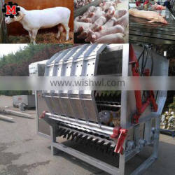 Hydraulic Sheep Hair Removal Machine for Goat Slaughterhouse with rubber de hairing beaters