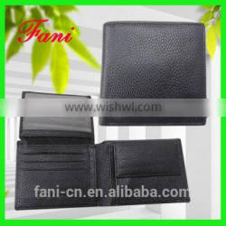 Multifunction and durable men leather wallets with card holder and coin pocket