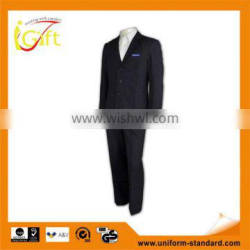 two button good quality anti-wrinkle customizable mens suit nice work suits