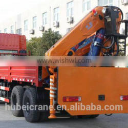 18ton Quicklift Compact Cranes,SQ360ZB4, hydraulic truck crane with knuckle booms.