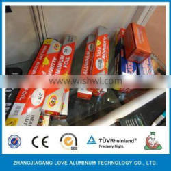 kitchen use non stick aluminium foil rolls for food wrapping