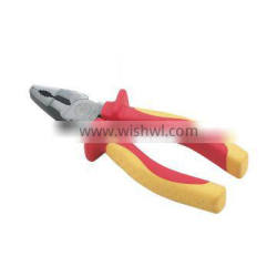 No 201346 Two colors TPR handle Lineman's cutting pliers