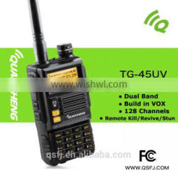 TG-45UV two band ham radio with large lcd display and numberic keypad