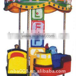 Car Turntable Amusement Kiddie Ride Machine