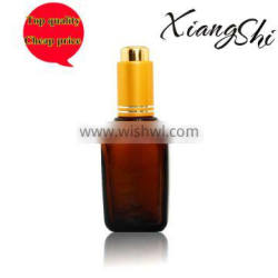 50ml factory brown glass essential oil bottle square bottle