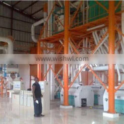 120-200tons of automatic wheat flour mill plant for installation processing