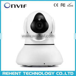Clever Dog 1 Megapixel Motion Detection 2 Way Audio HD Wireless Wifi Baby Monitor IP CCTV Camera with 64G Memory Card