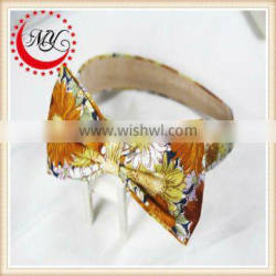 Hot sale big flower hair bands for teenagers