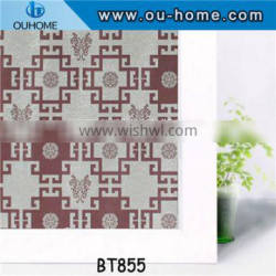 BT855 Removable stained glass tinting window film
