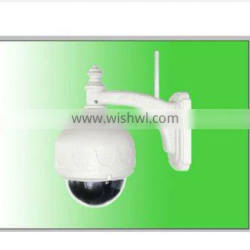 Megapixel HD H.264 720P NightVision PTZ dome hidden outdoor network security wireless wifi P2P IP Camera SD card NEO coolcam