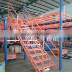 multi layer strong mezzanine floor system increasing storage area