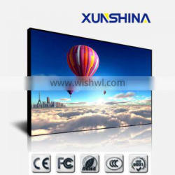 "5.3mm ultra narrow bezel 55"" lcd cheap video wall"