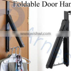 household tools washing cleaning products equipments clothes belt scarf foldable over doors portable rack hangers 75827 75828