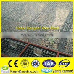 galvanized Iron Mink cage for animals