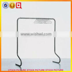 Clothes hanger stand dislay rack