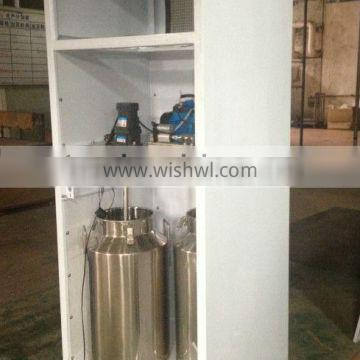 Fresh milk dispenser with IC card and coin operated / Auto bottled milk vending machinewith Refrigerant R134a