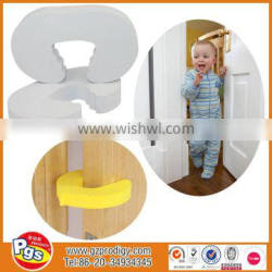 Babies product soft funny door stopper/eva child safety door stopper
