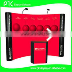 exhibition wall pop up display