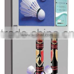 Alibaba hot and new product online management Shuttlecock vending machine