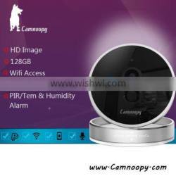 Camnoopy Temperature and humidity new design plug and play smart home wireless IP camera