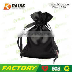 Easy Carry Factory Portable embroidered satin bags DK-JL528