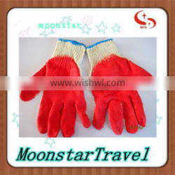10 gauge cotton knitted Latex working gloves
