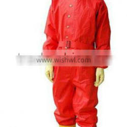 Fabric chemical safety protective clothing
